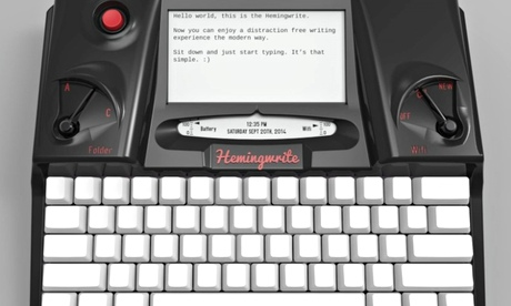 Is the Hemingwrite the solution to the problem of connectivity and creativity?