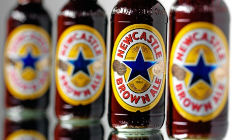 Newcastle Brown Ale.