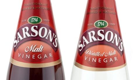 Sarson's vinegar.