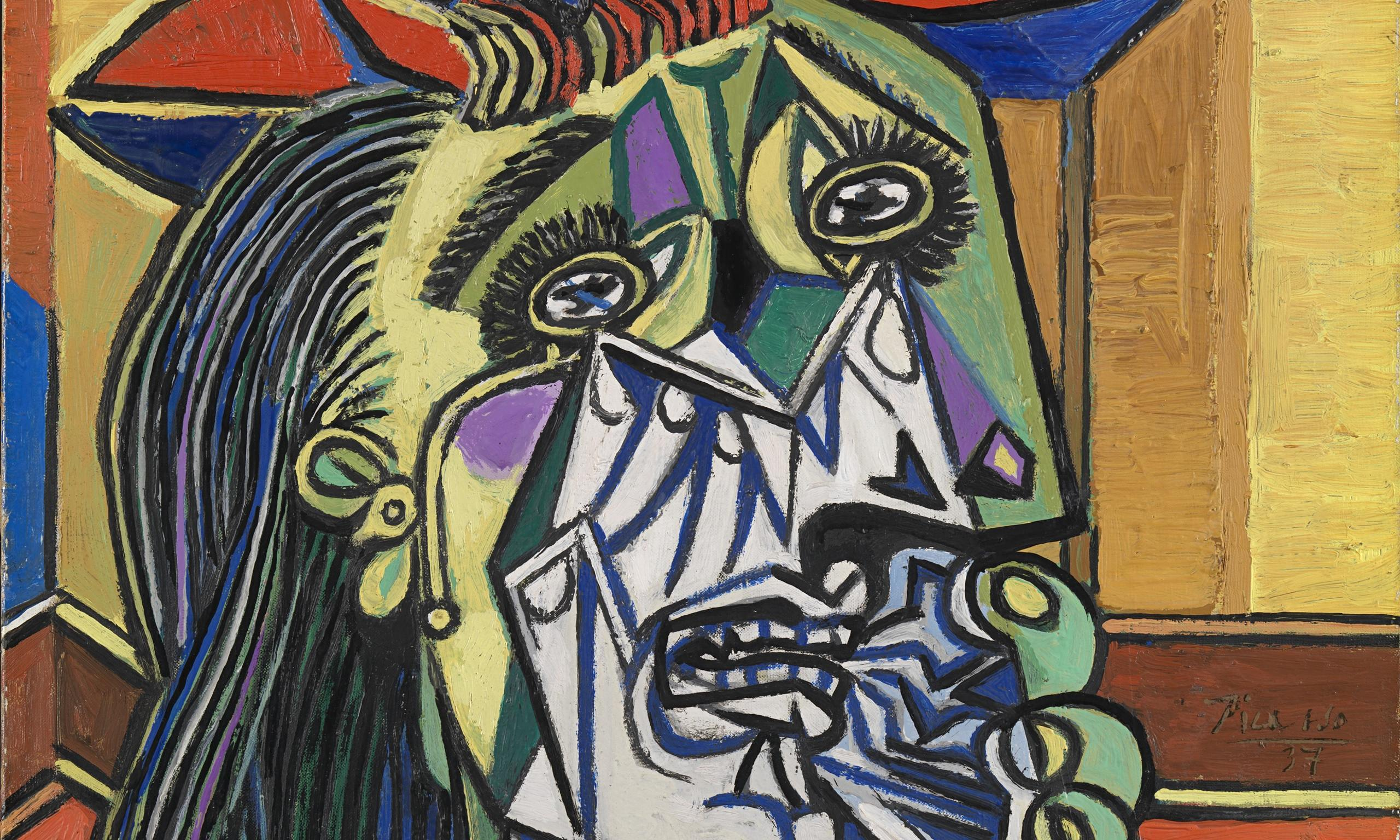 pablo picasso weeping woman essay