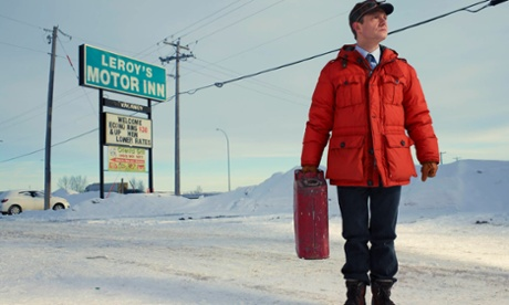 Cranking up the tenston ...  Martin Freeman in Fargo.