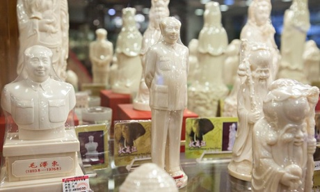 Ivory for sale in Chinese government store, as price triples in China in four years.