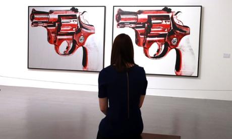 Gun, 1981, Andy Warhol, Tate Liverpool