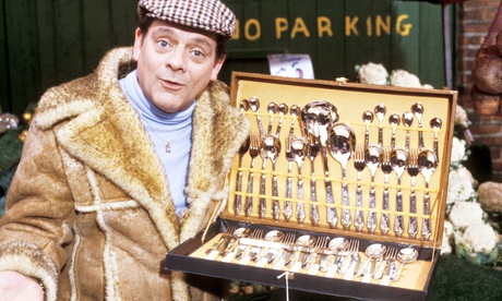 Del Boy does a bit of dodgy dealing