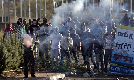 Israeli Arab protesters
