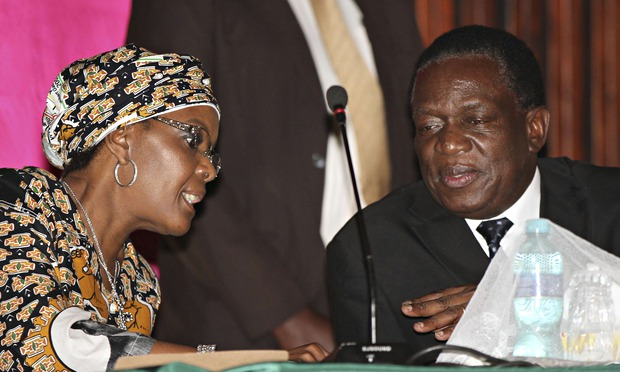 Mnangagwa Named Vice President As Rumours Grow Over Mugabe S Successor World News The Guardian
