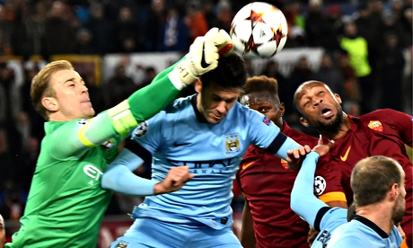 Manchester City roll aside Roma but last 16 could expose soft centre | Jamie Jackson