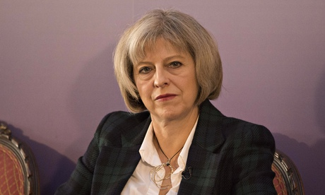 Theresa May met members of the Senate committee working on the CIA torture report, according to documents obtained by Reprieve.