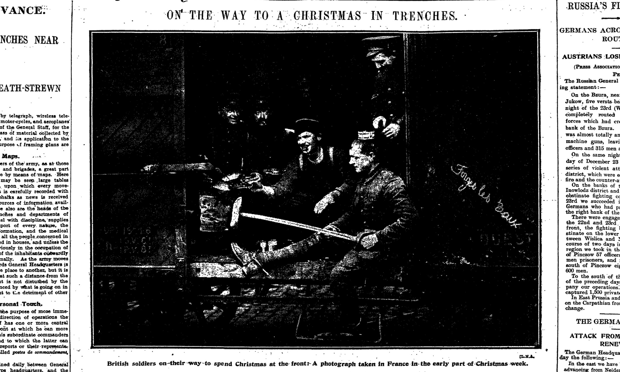 The Amazing Truce: Christmas in the trenches in 1914   World news   The Guardian