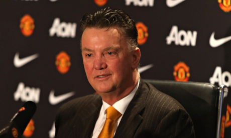 Louis van Gaal admits lack of alternatives saved Robin van Persie