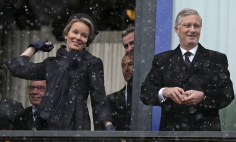 king philippe queen mathilde belgium battle bulge