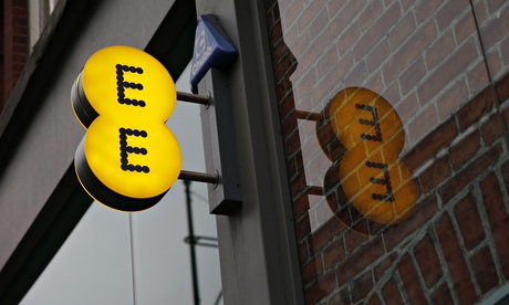 BT in talks to buy mobile phone operator EE for £12.5bn