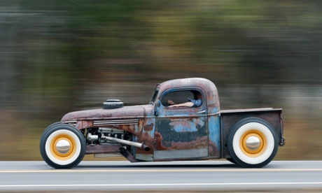 Rat Rods: rumbly, rusty and turning heads on the highway – in pictures