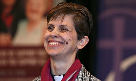 Libby Lane, who has been named as the Church of England's first female bishop.