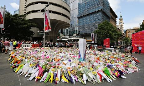 BESTPIX Sydney Pays Respect To Victims After 16 Hour Siege
