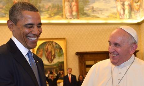 Barack Obama Pope Francis