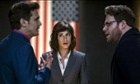 JAMES FRANCO, LIZZY CAPLAN & SETH ROGENFilm 'THE INTERVIEW' (2014)