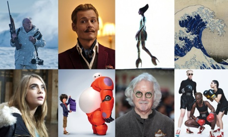 150 unmissable arts for 2015: the best film, TV, theatre, art, music