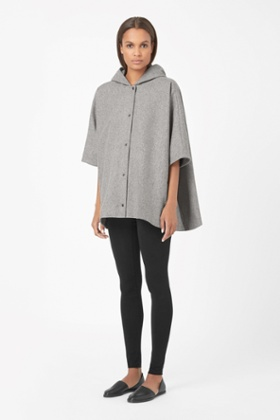 Cos Hooded cape jacket – perfect for Christmas Day