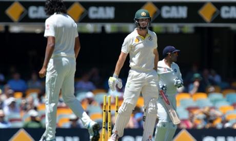 Australia v India: second Test, day three – live