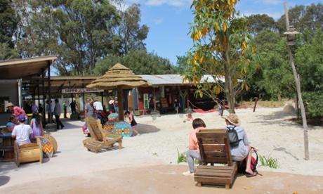 Hippo Beach Werribee Open Range Zoo
