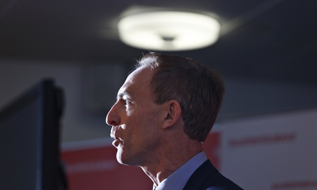 Jim Murphy, new leader of the Scottish Labour Party. The trade union Unite will work with him, says
