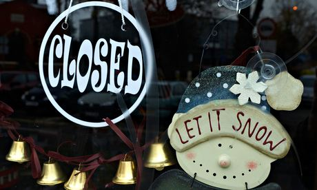 The Christmas shutdown just makes us drunker, fatter, lazier and lonelier