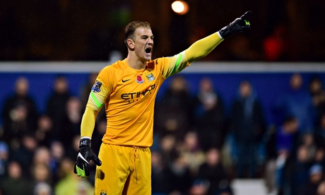 Joe Hart commits to Manchester City for another five years until 2019