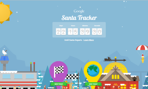 google santa tracker, christmas, shopper marketing, vivid brand