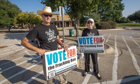 How a ruby-red Texas town turned against fracking
