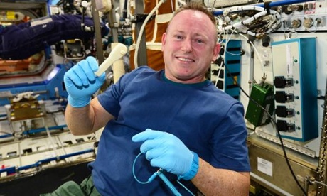 ISS astronaut uses 3D printer to make socket wrench in space