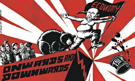 David Simonds cartoon on Russia's economic problems