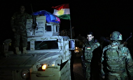Peshmerga forces heave Isis away from Mount Sinjar...