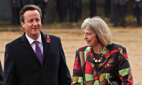 Theresa May warned Tory leadership chances at risk from advisers\' infighting...