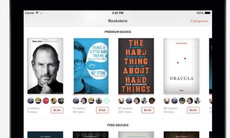 Glose for iPad.