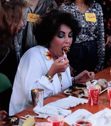 Elizabeth Taylor dieters