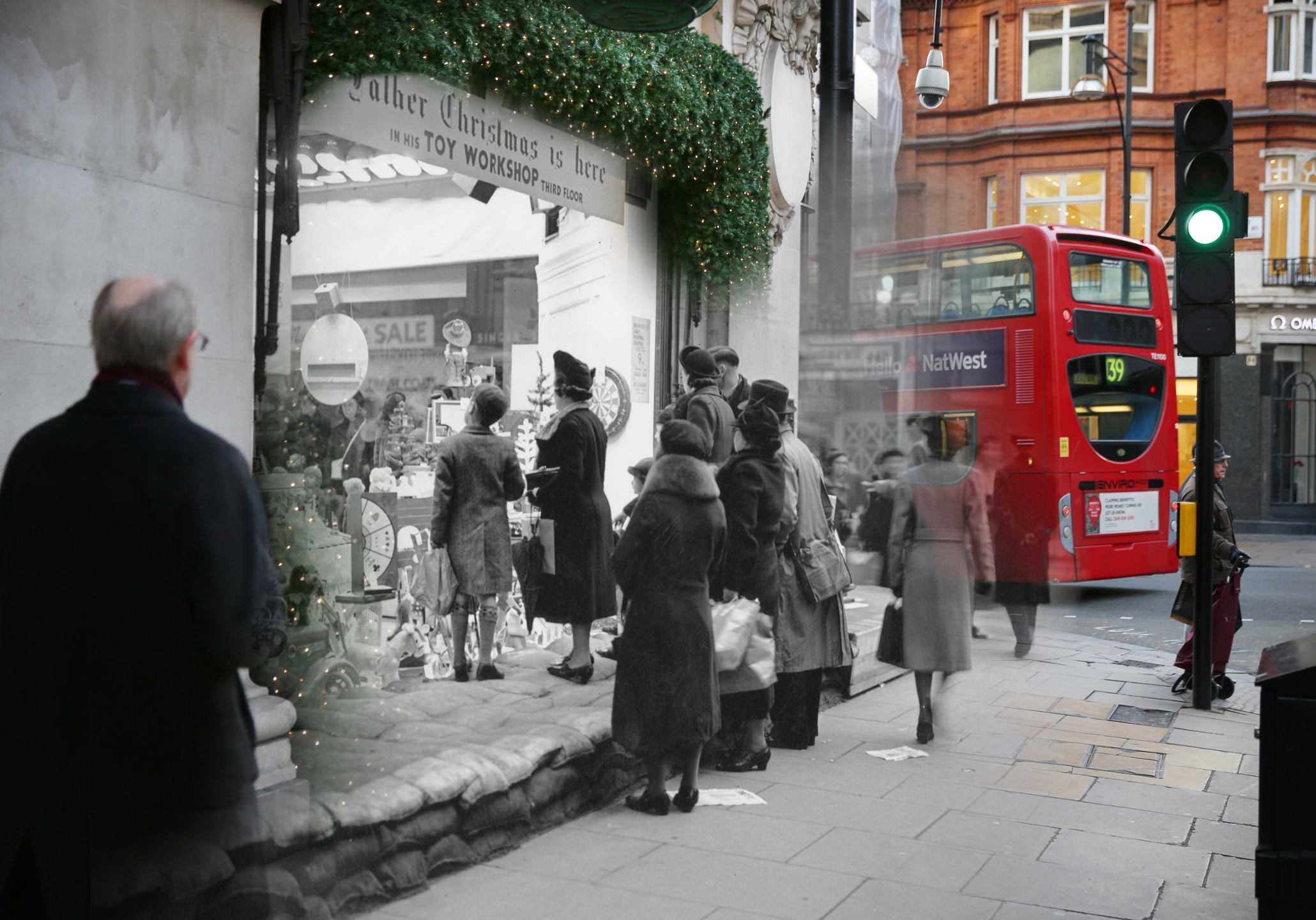Ghosts of London's Christmas past and present – in ... Pictures From The Past