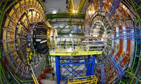 The Large Hadron Collider sets its sights on dark matter