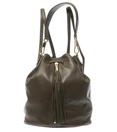 Elizabeth And James Cynnie sling leather tassel backpack