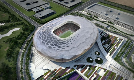 The artists' impressions of Qatar's 2022 World Cup venues, like the Qatar Foundation Stadium, are impressive – but criticism over treatment of migrant workers has dogged the development.