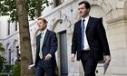 David Laws and George Osborne