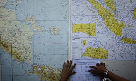 Flight QZ8501 search