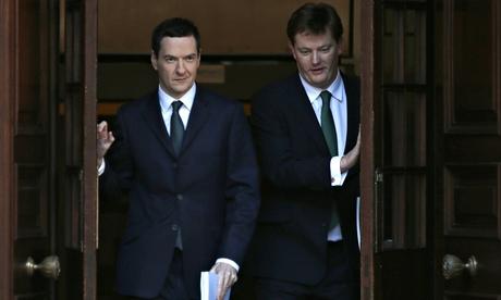 Chancellor George Osborne and chief secretary of the Treasury Danny Alexander