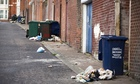 When rubbish goes uncollected people may start to notice the misery