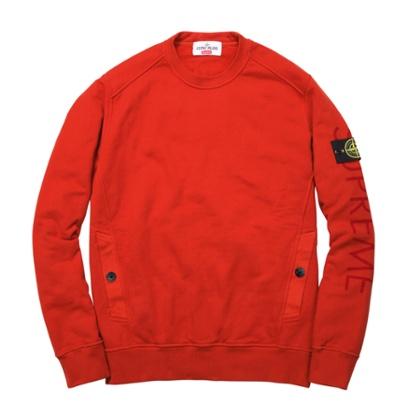Stone Island X Supreme sweatshirt