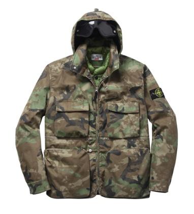 Stone Island x Supreme camo jacket
