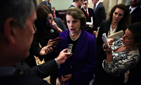 Senator Dianne Feinstein, who said the CIA's interrogation programmes were 'morally and legally misg