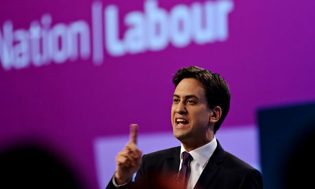 Ed Miliband speaks to Labour conference