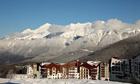 Sochi Olympics village