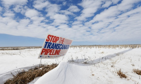 Keystone pipeline opponenents